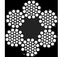 Канат стальной 25.0мм О.С. ГОСТ 16853-88