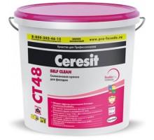Краска Церезит (Ceresit) CT 48 силиконовая БАЗА 15л