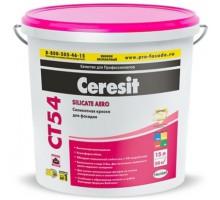 Краска Церезит (Ceresit) CT 54 силикатная БАЗА 15л