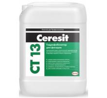 Гидрофобизатор Церезит (Ceresit) CT 13 силиконовый фасадный 10л