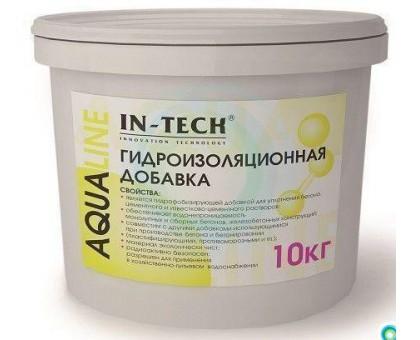 Добавка гидроизоляционная ИН-ТЕК (IN-TECK) AQUALINE 10кг