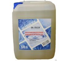 Противоморозная добавка в бетон ИН-ТЕК (IN-TECK) ICE 10л