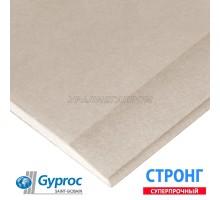Гипсокартон ГИПРОК (Gyproc) ГКЛ 2500/1200/15мм