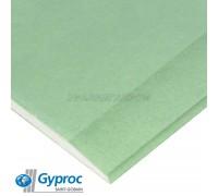Гипсокартон ГИПРОК (Gyproc) влагостойкий 2500/1200/9,5мм