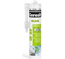 Герметик силиконовый Церезит (Ceresit) CS 23 для стекла белый 280мл
