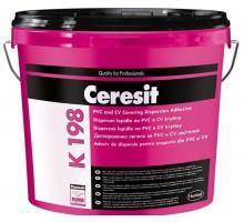 Клей Церезит (Ceresit) K 198 контактный для ПВХ покрытий 13кг