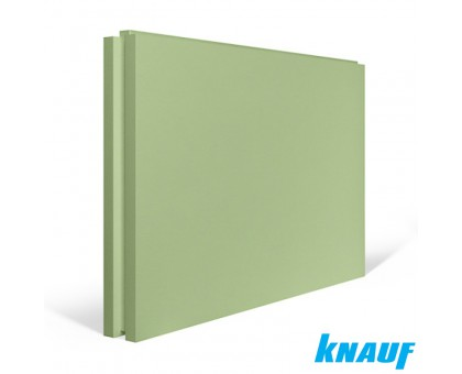 Пазогребневая плита Кнауф влагостойкая 667х500х80 мм, полнотелая