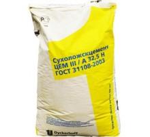Цемент ПЦ 400 III/А 32.5Н Сухоложскцемент (желтый) ГОСТ 21108-2003 50кг