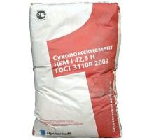 Цемент ПЦ 500 I 42.5Н Сухоложскцемент (красный) ГОСТ 21108-2003 50кг