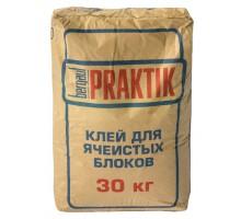 Клей для блоков Бергауф Практик 30кг