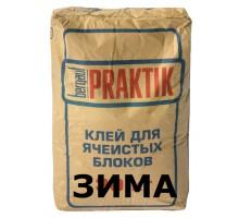 Клей для блоков Бергауф Практик зимний 30кг