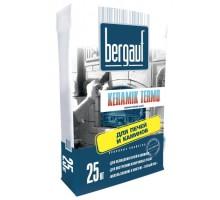 Клей для плитки Бергауф Керамик Термо для печей и каминов 25кг