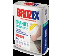Клей для плитки и натурального камня Брозекс (Brozex) ГРАНИТ КS-112 25кг