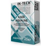 Клей для плитки ИН-ТЕК (IN-TECK) AQUALINE белый 25кг