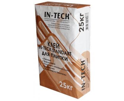Клей для плитки ИН-ТЕК (IN-TECK) STANDART 25кг