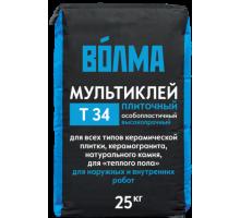 Клей для плитки ВОЛМА Мультиклей 25кг