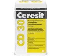 Ремонтная смесь Церезит (Ceresit) CD 30 антикорозийная для бетона 25кг