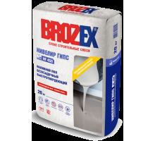 Наливной пол Брозекс (Brozex) НИВЕЛИР ГИПС NF-450 безусадочный быстротвердеющий 20кг