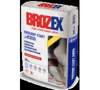 Ровнитель для пола Брозекс (Brozex) НИВЕЛИР СТАРТ NF-410 высокопрочный 5-60мм 25кг