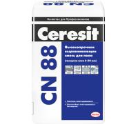 Стяжка для пола Церезит (Ceresit) CN 88 высокопрочная 5-50мм 25кг