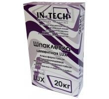 Шпатлевка цементная серая ИН-ТЕК (IN-TECK) LUX 20кг