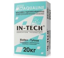 Шпатлевка цементная гидроизоляционная ИН-ТЕК (IN-TECK) AQUALINE 20кг
