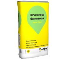 Шпаклевка полимерная Вебер Ветонит (Weber.Vetonit) Финиш 1-3мм 25кг