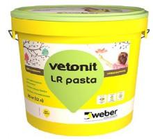 Шпаклевка суперфинишная Weber.Vetonit LR Pasta 20кг