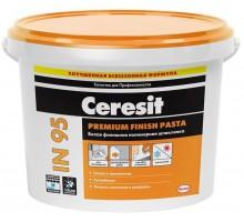 Шпаклевка полимерная Церезит (Ceresit) IN 95 готовая 25кг