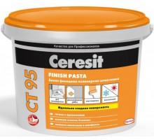 Шпаклевка полимерная Церезит (Ceresit) СТ 95 готовая 25кг