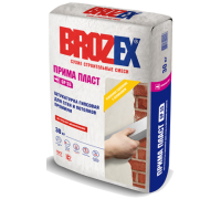 Штукатурка гипсовая Брозекс (Brozex) ПРИМА ПЛАСТ GP-55 25кг