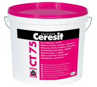 Штукатурка декоративная Церезит (Ceresit) СТ 75 силиконовая короед 2,0мм БАЗА 25кг