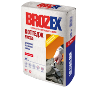 Цементно-песчаная смесь Брозекс (Brozex) КОТТЕДЖ М-75 25кг