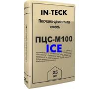 Песчанно-цементная смесь ИН-ТЕК (IN-TECK) М100 ICE (зима) 25кг