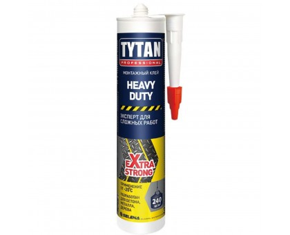 Клей монтажный Tytan Professional Heavy duty бежевый 310 мл