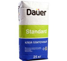 Клей для плитки и керамогранита Dauer Standard 25 кг