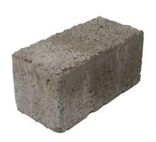 Блок керамзитобетонный стеновой полнотелый 390х188x190 мм