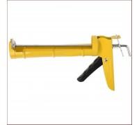 Пистолет для герметика полукорпусной, гладкий шток, 310мл