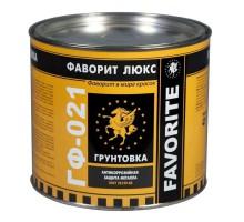 Грунт ГФ-021 серый Фаворит ЛЮКС, 2,4 кг