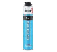 Пена монтажная KUDO Home 65, профессиональная, всесезонная, 1000 мл
