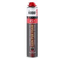 Пена монтажная огнеупорная KUDO Proff 45+, профессиональная, 1000 мл