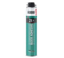 Клей-пена конструкционная KUDO Proff 28+ ABL профессиональная, всесезонная, 1000 мл