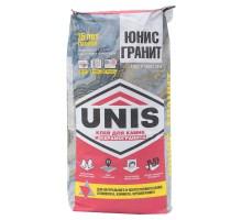 Клей для керамогранита UNIS Гранит 25 кг