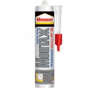 Жидкие гвозди Момент Монтаж Прозрачная хватка МF-80, (бесцветный), 300г