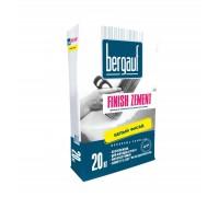 Шпаклевка цементная Бергауф Финиш Цемент белая 20кг