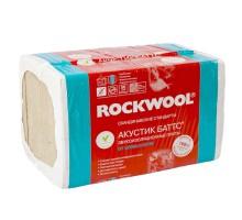 Утеплитель ROCKWOOL Акустик Баттс 1000х600х50 мм 10 штук в упаковке