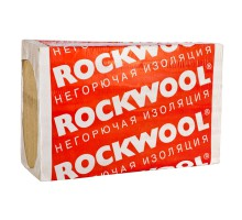 Утеплитель ROCKWOOL Фасад Баттс Экстра 1200х600х50 мм 4 штуки в упаковке