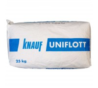 Шпаклевка финишная гипсовая высокопрочная Кнауф Унифлот 25кг