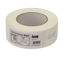 Лента армирующая Кнауф Курт бумажная 50 мм х 25 м