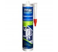 Герметик Tytan Euro-Line Силикон Универсальный (белый), 290 мл